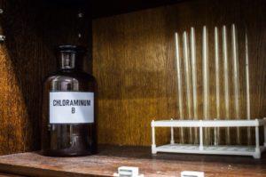 Предмет из квест-комнаты Лаборатория сумасшедшего - Изоляция