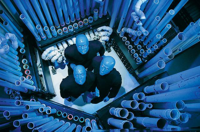 blue-man Новый вид квестов – перформансы